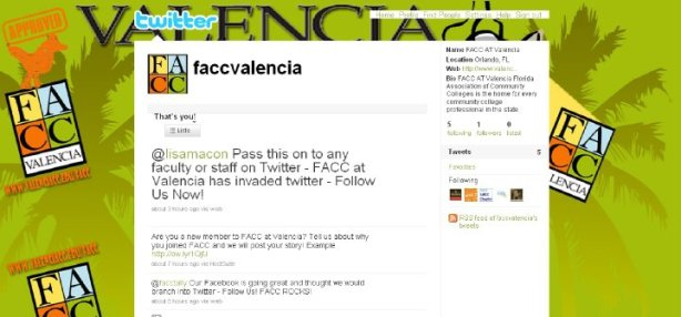 FACC at Valencia's Twitter Page