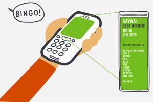 QR Code Reveals Information or Links to Website
