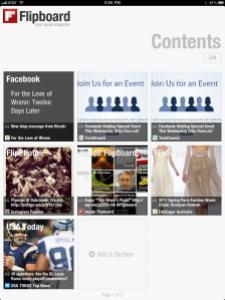 Flipboard Content