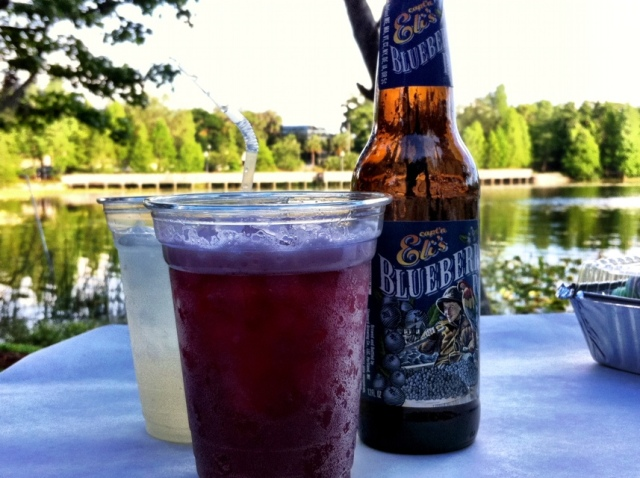 Capt'n Ele's Blueberry Soda