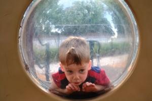 My Son Having Fun at the Playground at Lake Lily