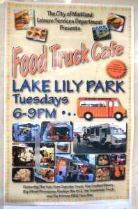 Food Truck Cafe Poster