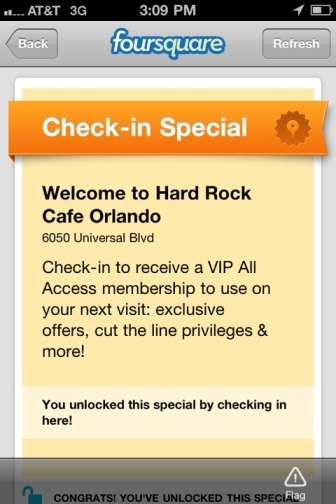 Hard Rock Cafe All Access Pass