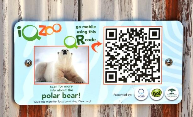 Polar Bear QR Code