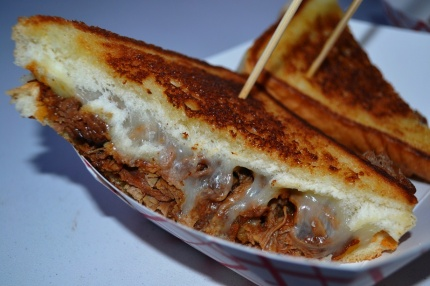 C&S Brisket BBQ Grilled Cheese