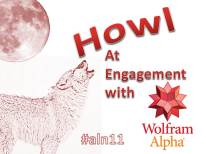 Howl at Engagement with Wolfram Alpha