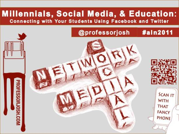 Sloan C Millennials, Social Media, and Education Connecting With Your Students