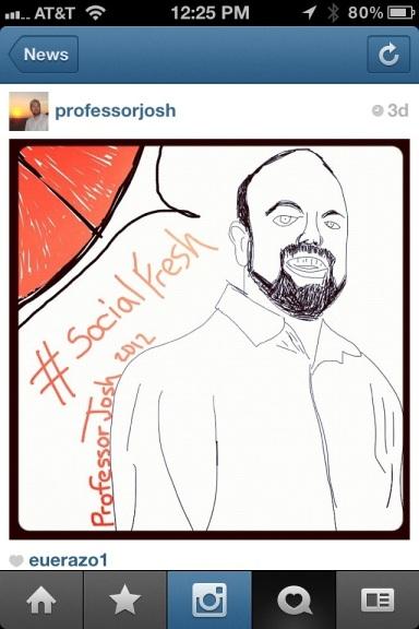 Instagram ProfessorJosh New Buttons