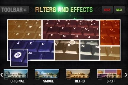 Facebook Covers Split Filter