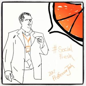 Social Fresh Sketch Chris Moody