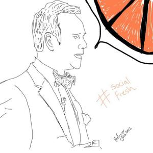 Social Fresh Sketch Scott Monty
