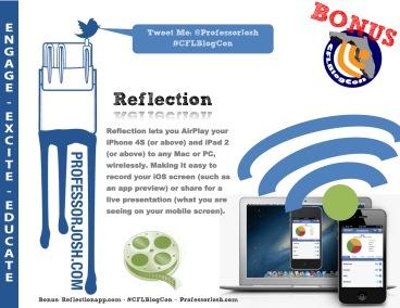 Bonus Widget CFLBlogCon ProfessorJosh Reflection