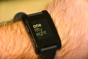Pebble Text Watch
