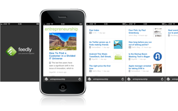 feedly iphone app