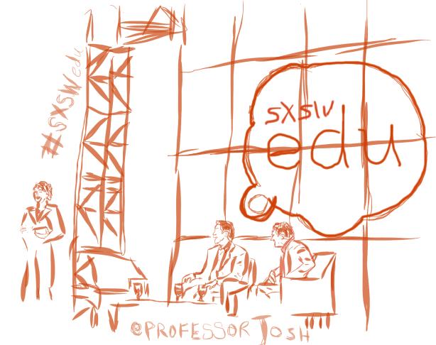 Sketch of MOOC Keynote Conversation Anant Agarwal, Andrew Ng, Laura Pappano