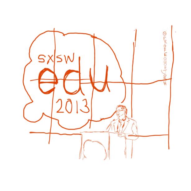 Sketch Bill Gates Keynote