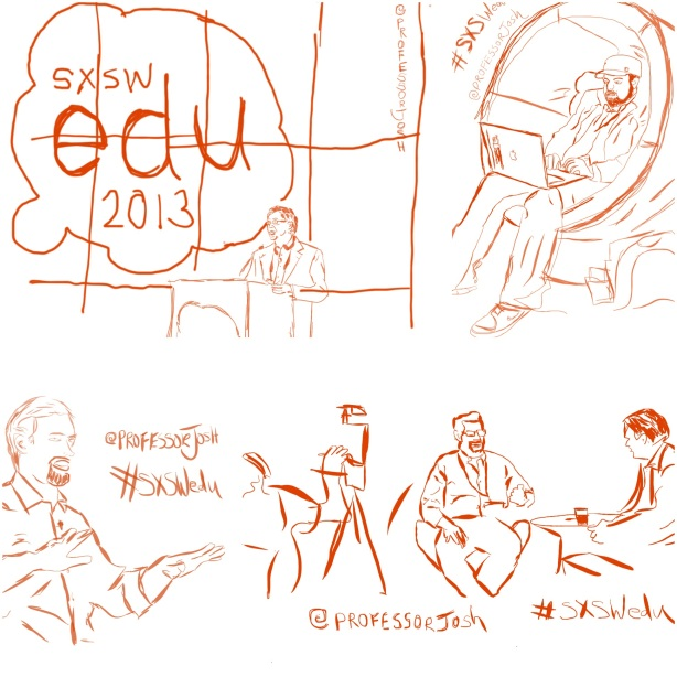 SXSWedu One Sketch at a Time