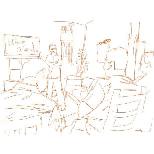 EdTech Orlando Meetup Sketch