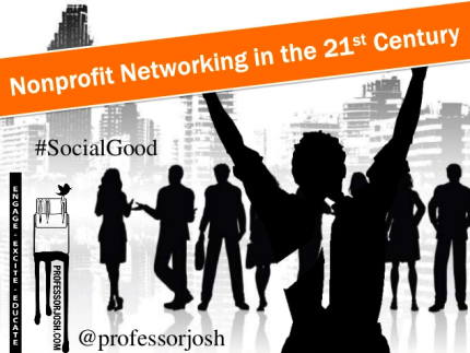 Nonprofit Networking Slide