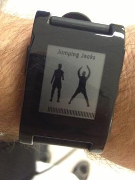 Pebble 7 Minute Workout App